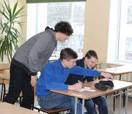 """Informācijas diena """"Karjeras krustceles"""" tikšanās ar mācību iestāžu pārstāvjiem"""
