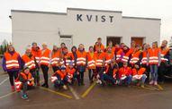 """Mācību ekskursija uz uzņēmumu """"Kvist"""""""