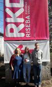 """Projekta """"Esi Līderis"""" noslēguma pasākumā RISEBA Arhitektūras un mediju centrā H2O 6, Rīgā"""